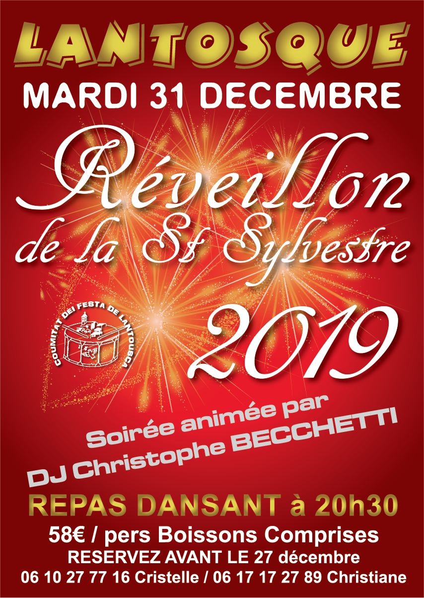 REVEILLON lantosque